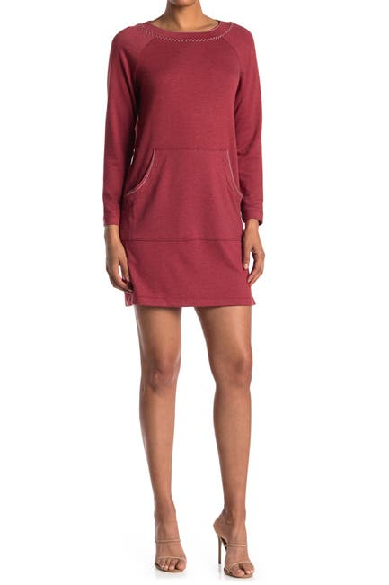 Image of Max Studio French Terry Knit Dress