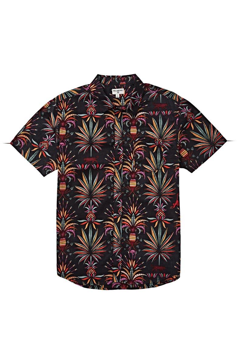 BILLABONG Sundays Woven Button-Up Shirt, Main, color, 001