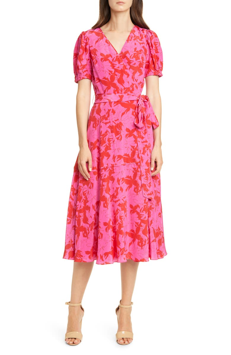 Dorothy Silk Wrap Dress