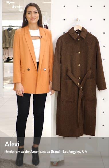 Kia Brushed Wool Coat, sales video thumbnail
