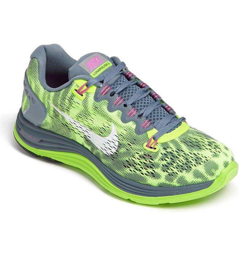 NIKE 'LunarGlide+ 5 PRM' Running Shoe, Main, color, 300