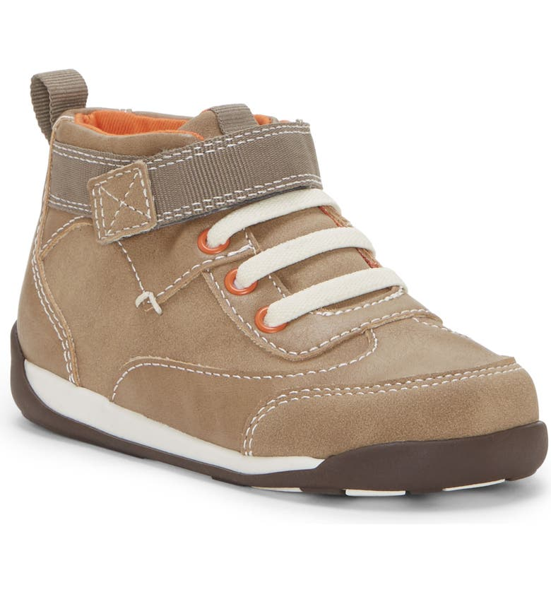 SOLE PLAY Paidi Mid Top Sneaker, Main, color, TAN/ BUTTON MUSHROOM