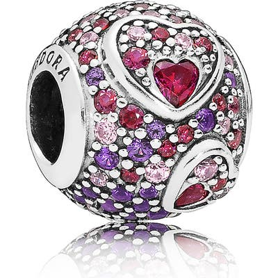 Pandora Asymmetrical Hearts Of Love Bead Charm