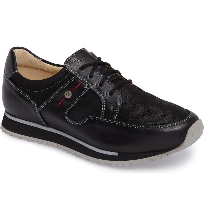 WOLKY E-Walk Sneaker, Main, color, 001