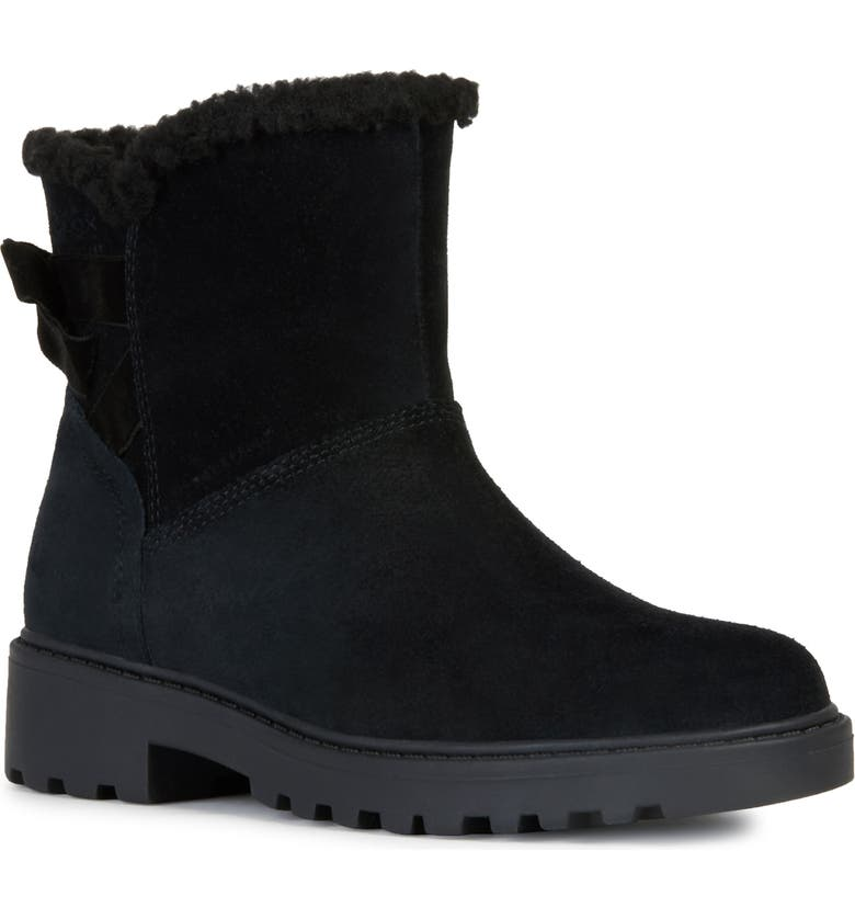 GEOX Casey Waterproof Boot, Main, color, BLACK