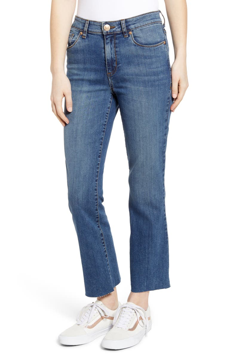 STS BLUE Brooke Crop Flare Jeans, Main, color, 400
