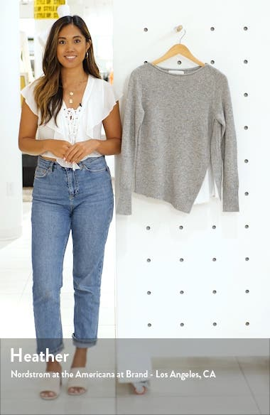 Wool & Cashmere Layered Sweater, sales video thumbnail