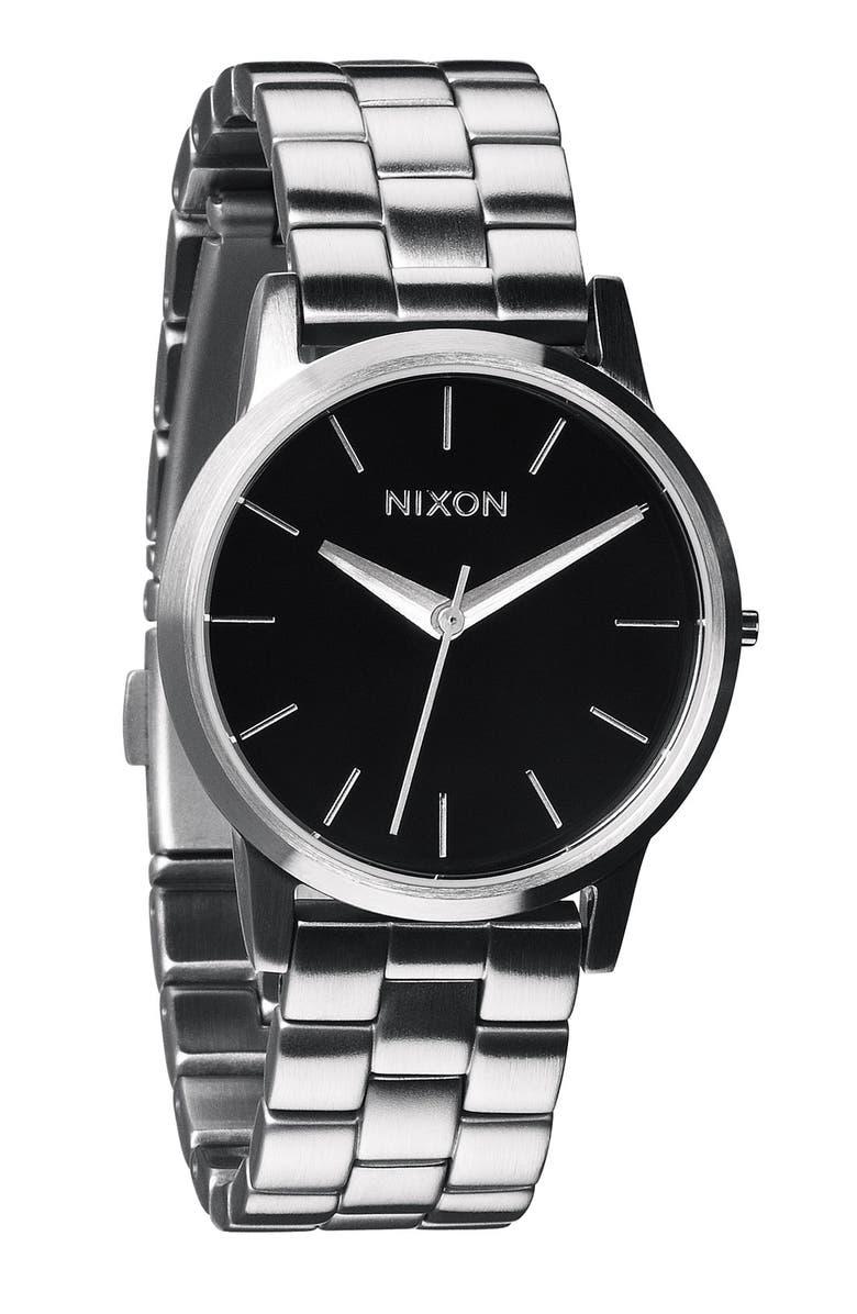 NIXON 'The Small Kensington' Bracelet Watch, 30mm, Main, color, 040