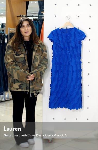 Laser Cut Circle Scalloped A-Line Dress, sales video thumbnail