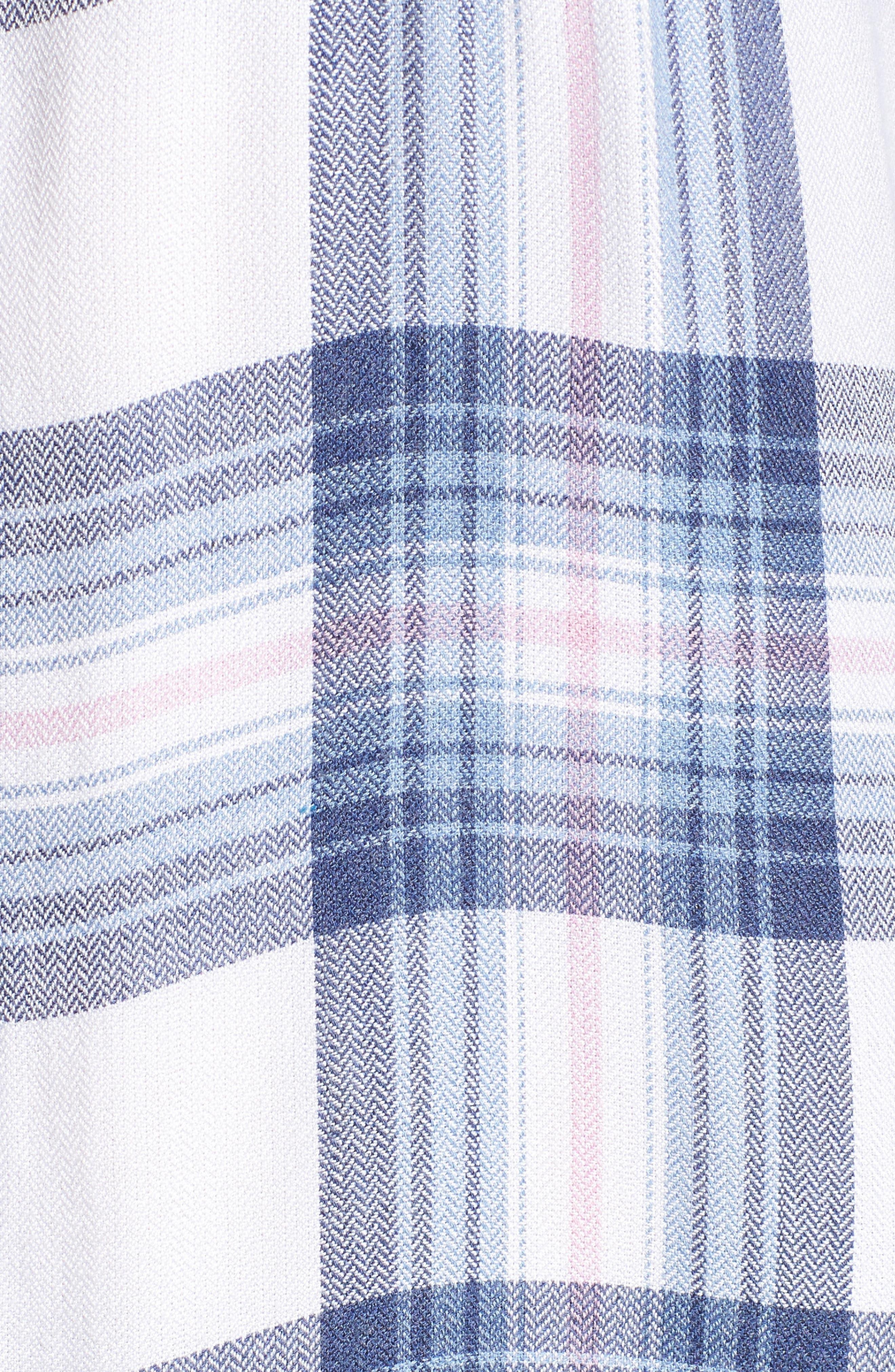 ,                             Hunter Plaid Shirt,                             Alternate thumbnail 826, color,                             435