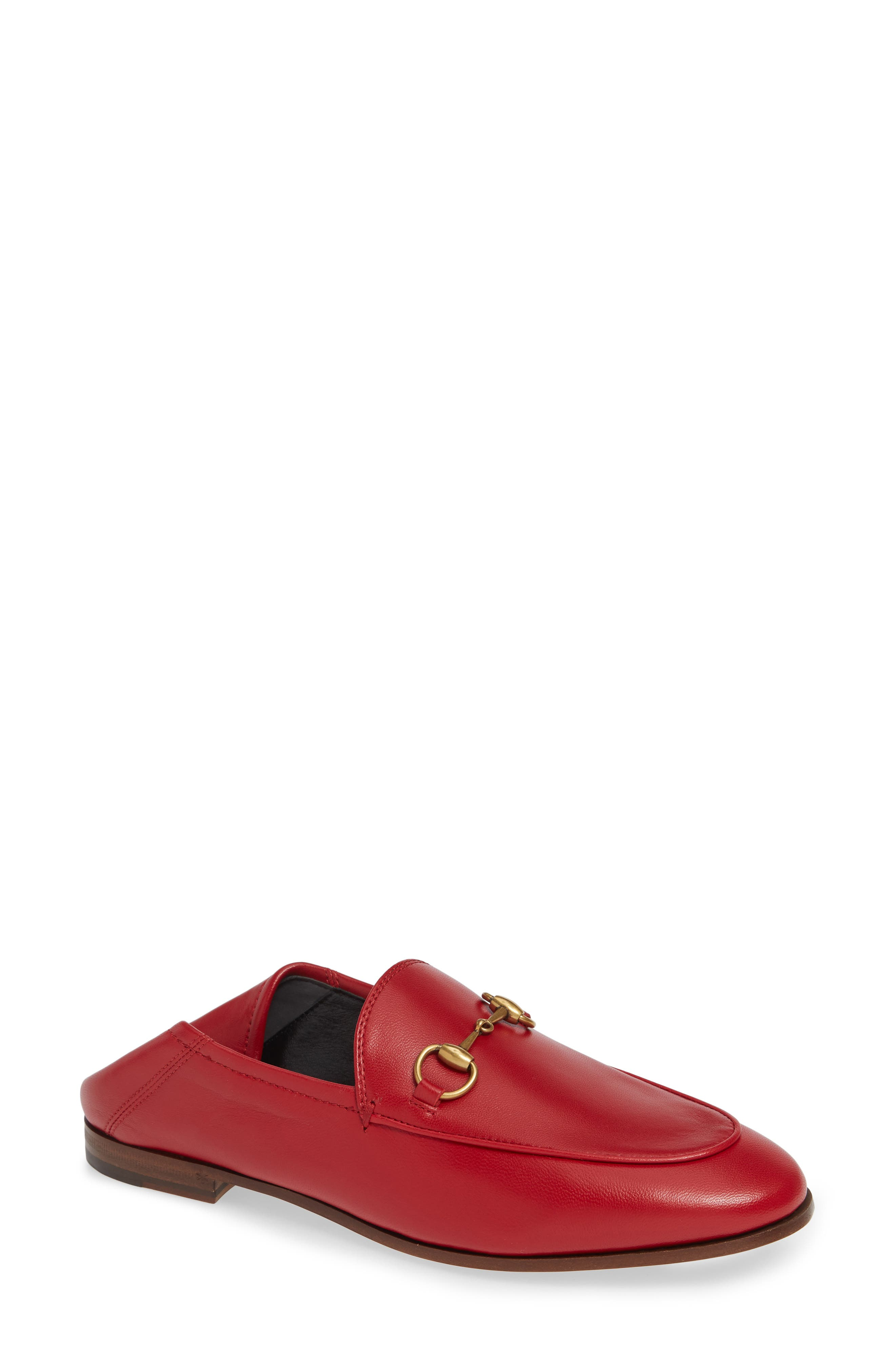 Gucci Brixton Convertible Loafer, Red