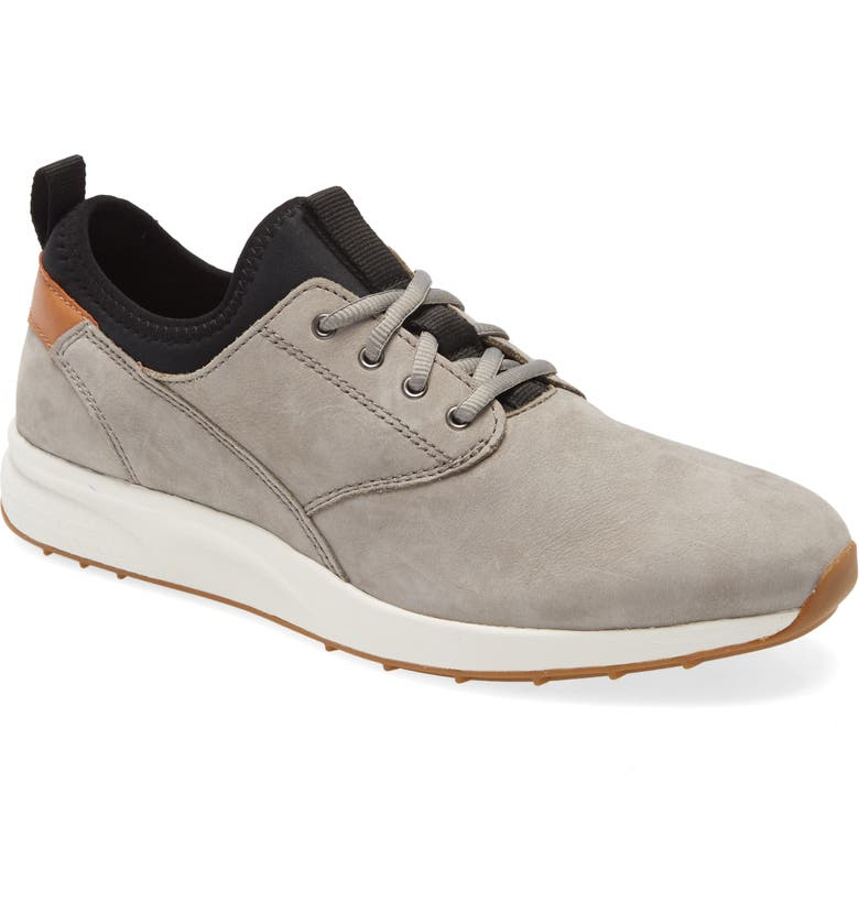 JOHNSTON & MURPHY Keating Sneaker, Main, color, GRAY