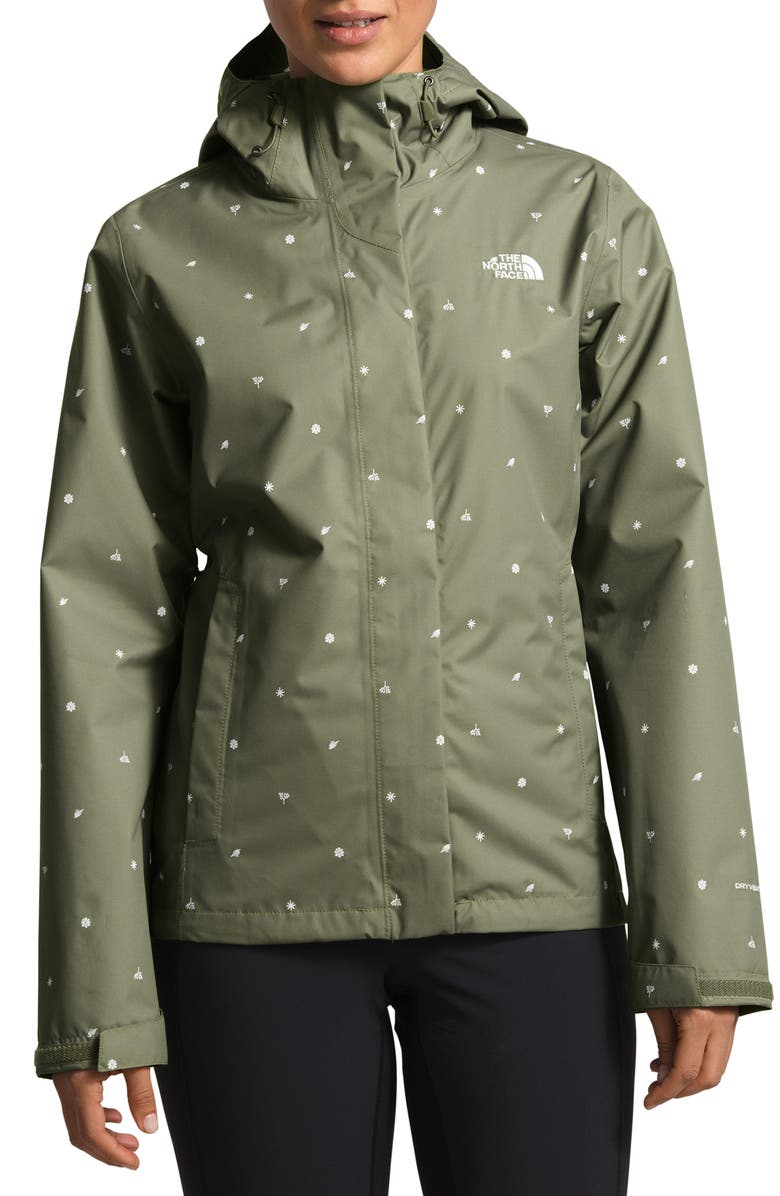 THE NORTH FACE Venture Print Waterproof Jacket, Main, color, 301
