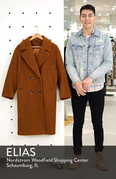 Bouclé Button Front Coat, sales video thumbnail