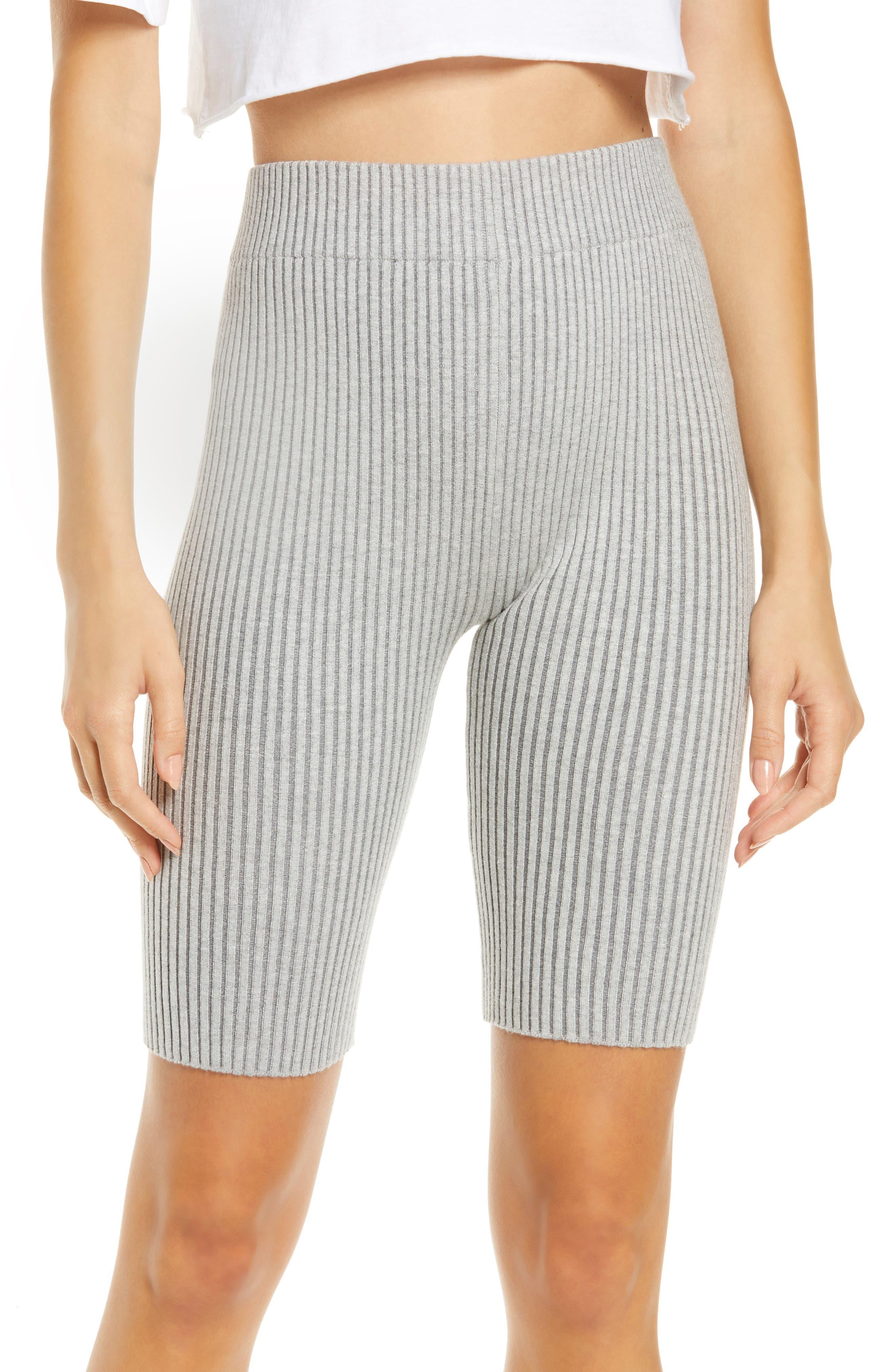 Cozy Rib Organic Cotton Blend Bike Shorts