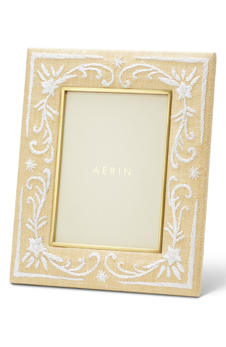 AERIN Valentina Raffia Frame, Main, color, NATURAL