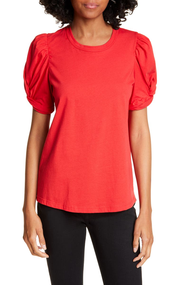A.L.C. Kati Puff Sleeve Tee, Main, color, 620