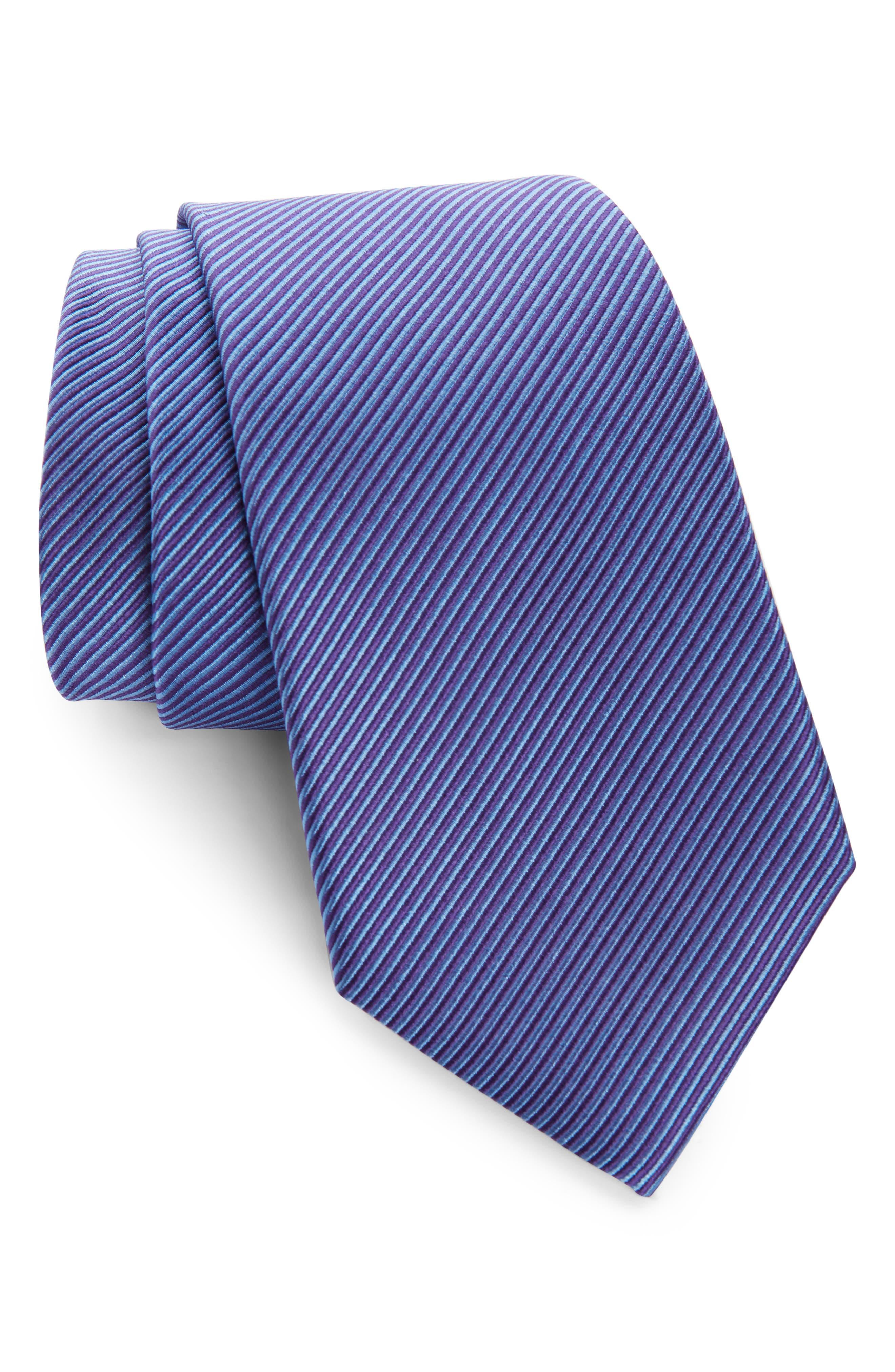 ,                             Stripe Silk Tie,                             Main thumbnail 7, color,                             520