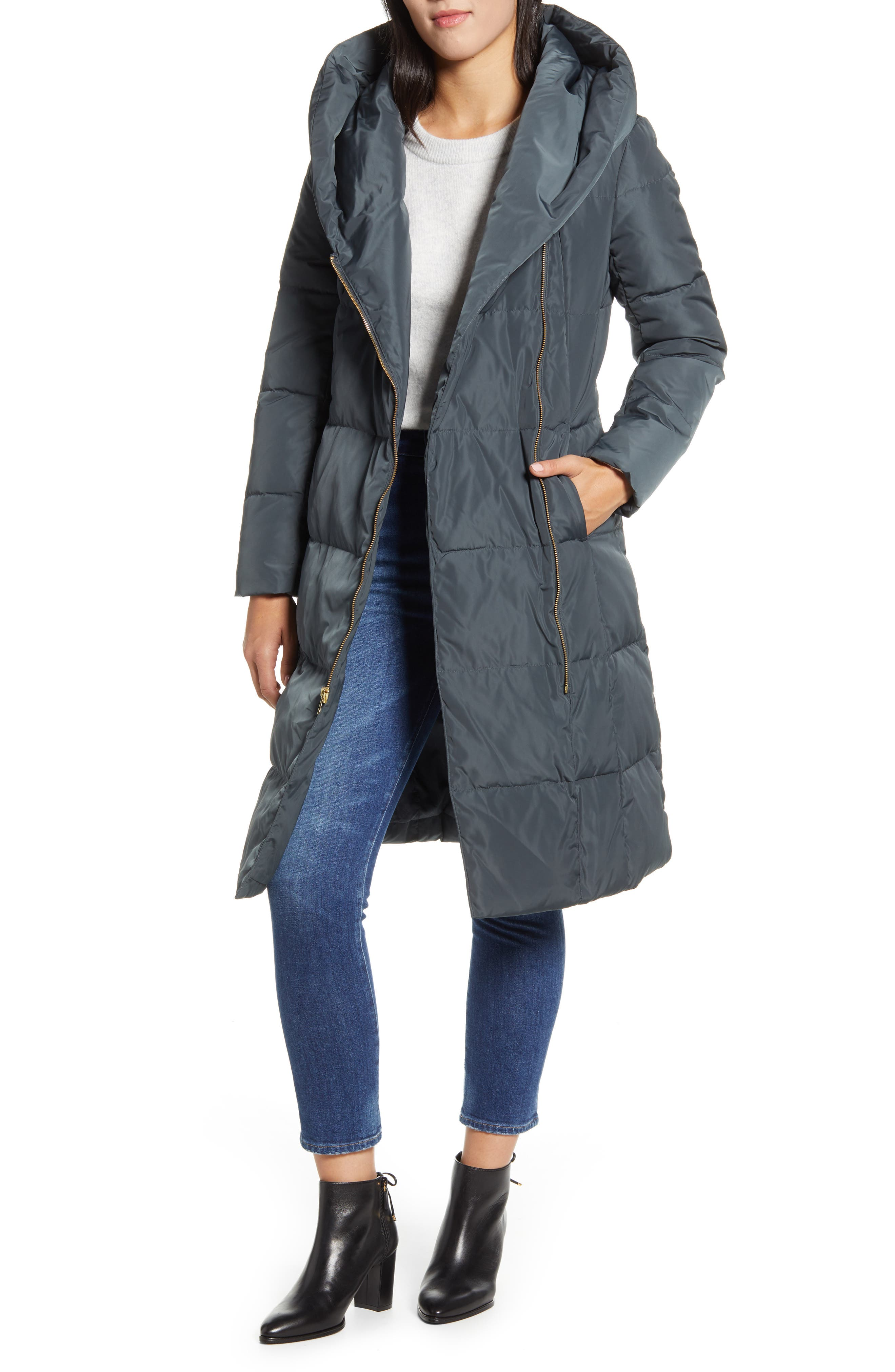 Cole Haan Signature Cole Haan Down & Feather Coat