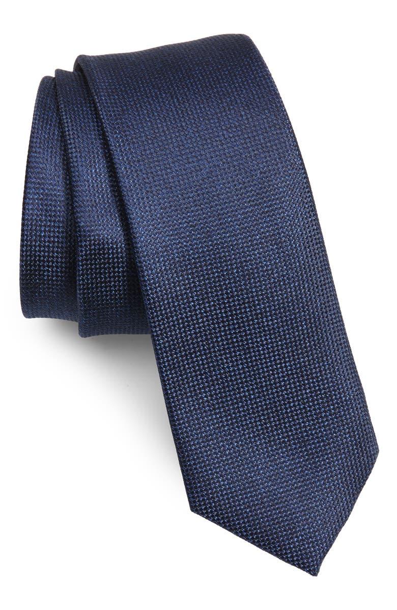 1901 Torres Solid Skinny Tie, Main, color, 410