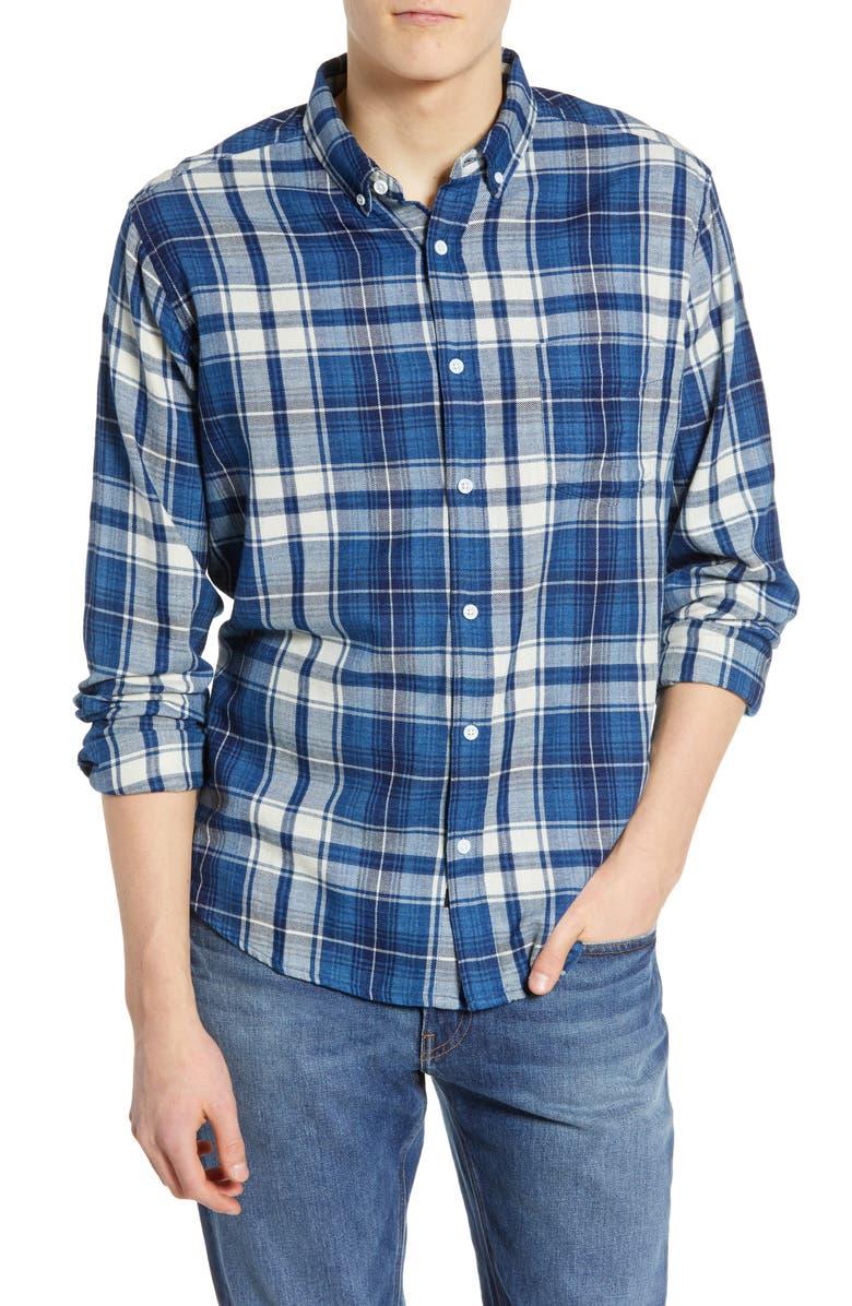 RAILS Lennox Regular Fit Plaid Sport Shirt, Main, color, 471