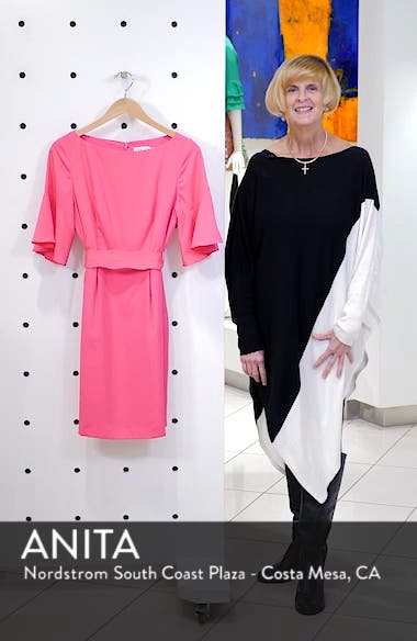Bell Sleeve Sheath Dress, sales video thumbnail