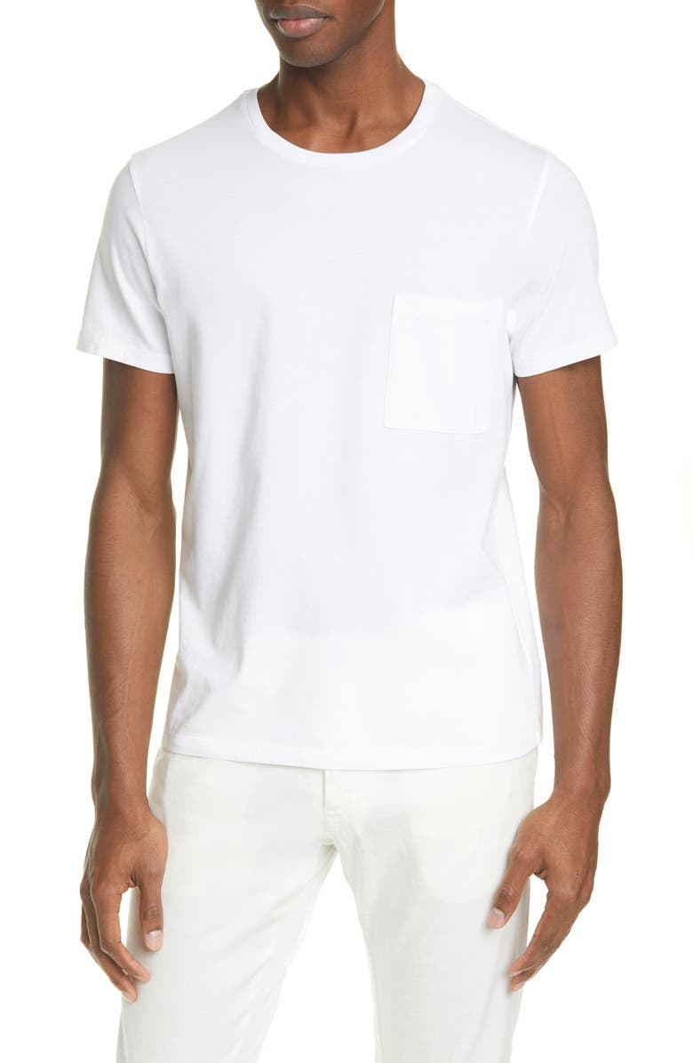 BARENA VENEZIA Giro Pocket T-Shirt, Main, color, 100