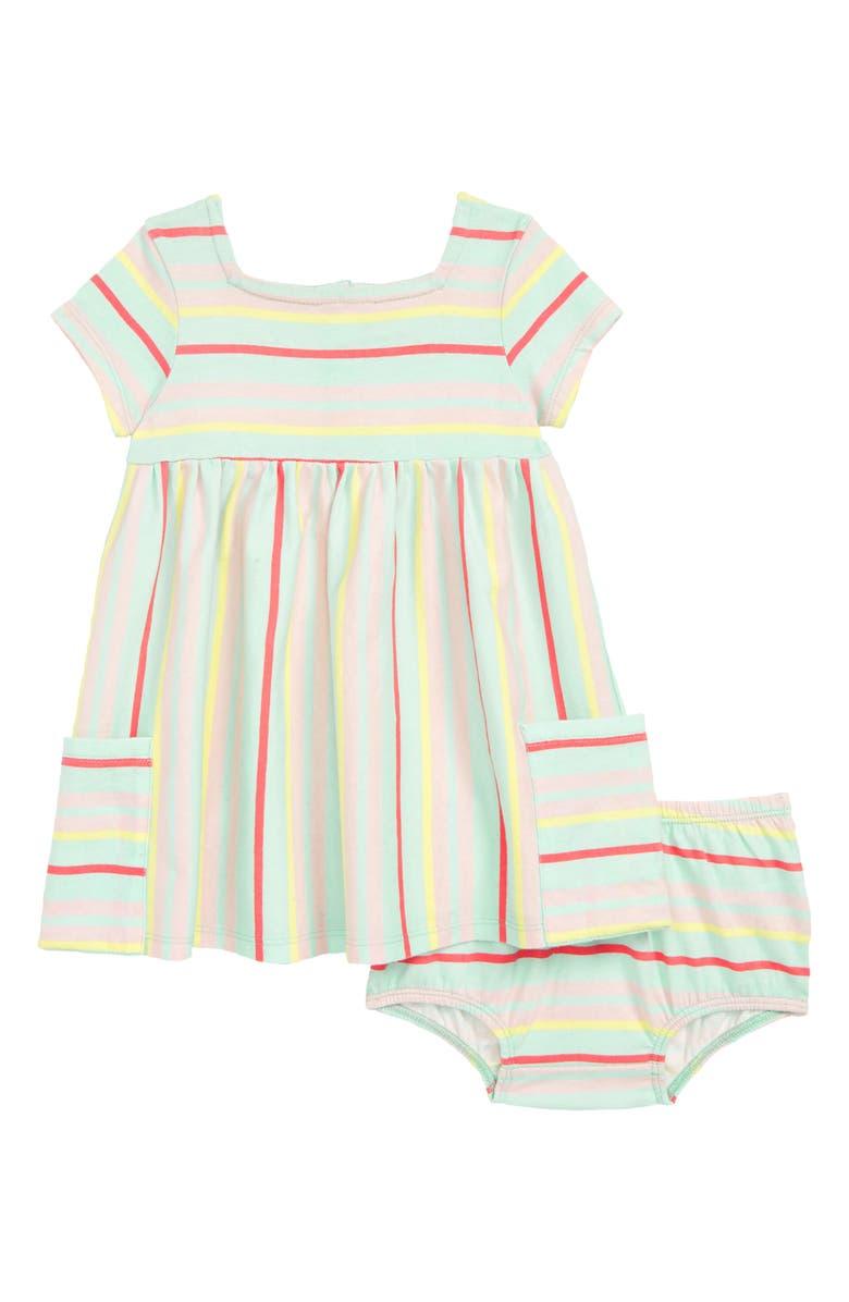 Tucker Tate Ive Got Pockets Stripe Dress Baby