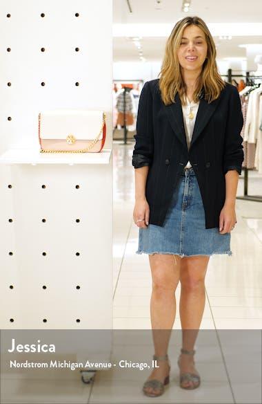 Chelsea Colorblock Leather Shoulder Bag, sales video thumbnail