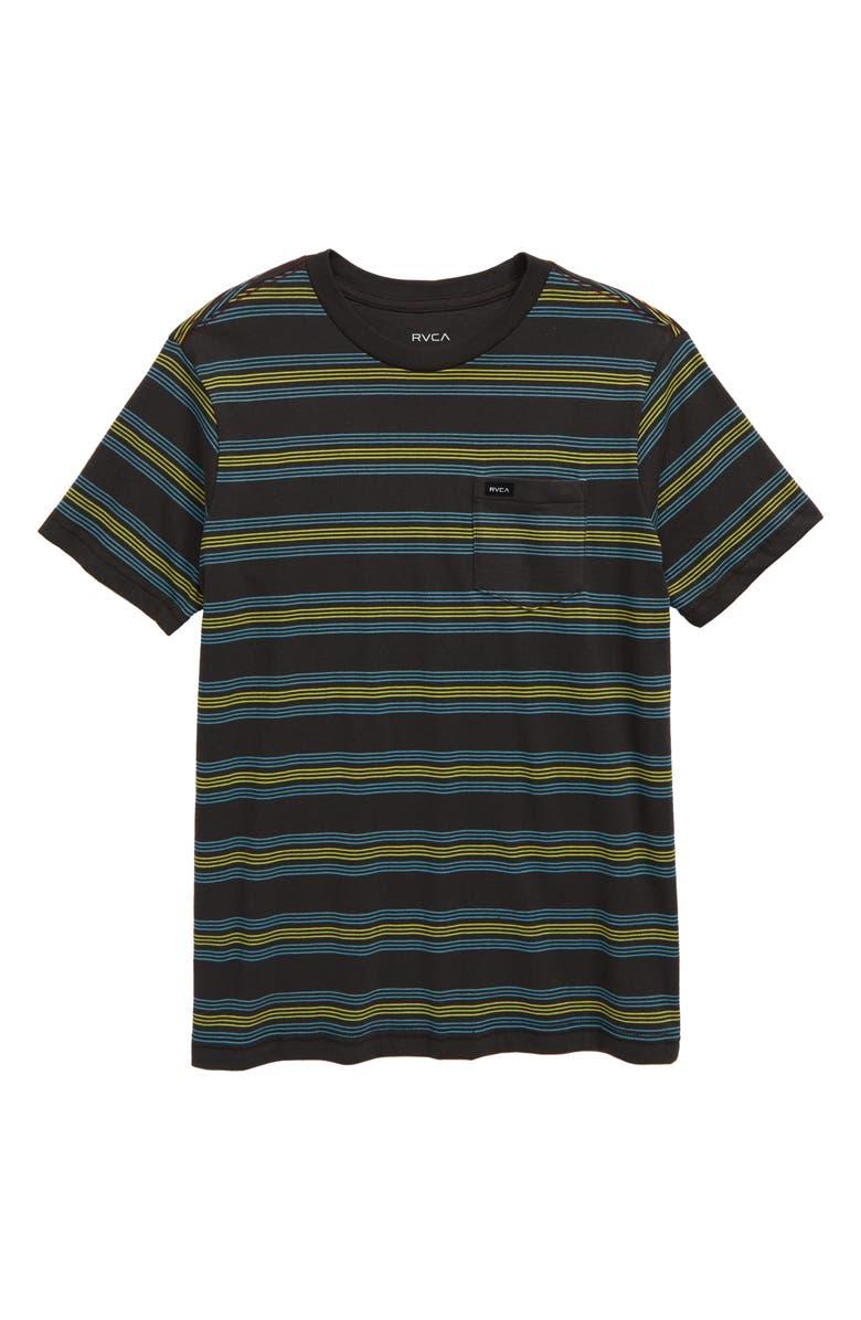 RVCA Straight Edge T-Shirt, Main, color, 008
