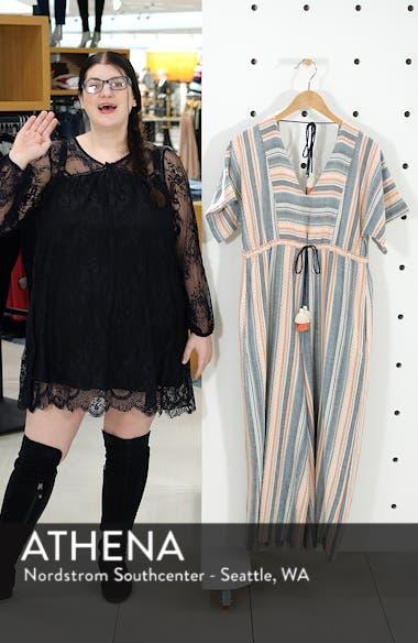 Monroe Stripe Crop Wide Leg Jumpsuit, sales video thumbnail