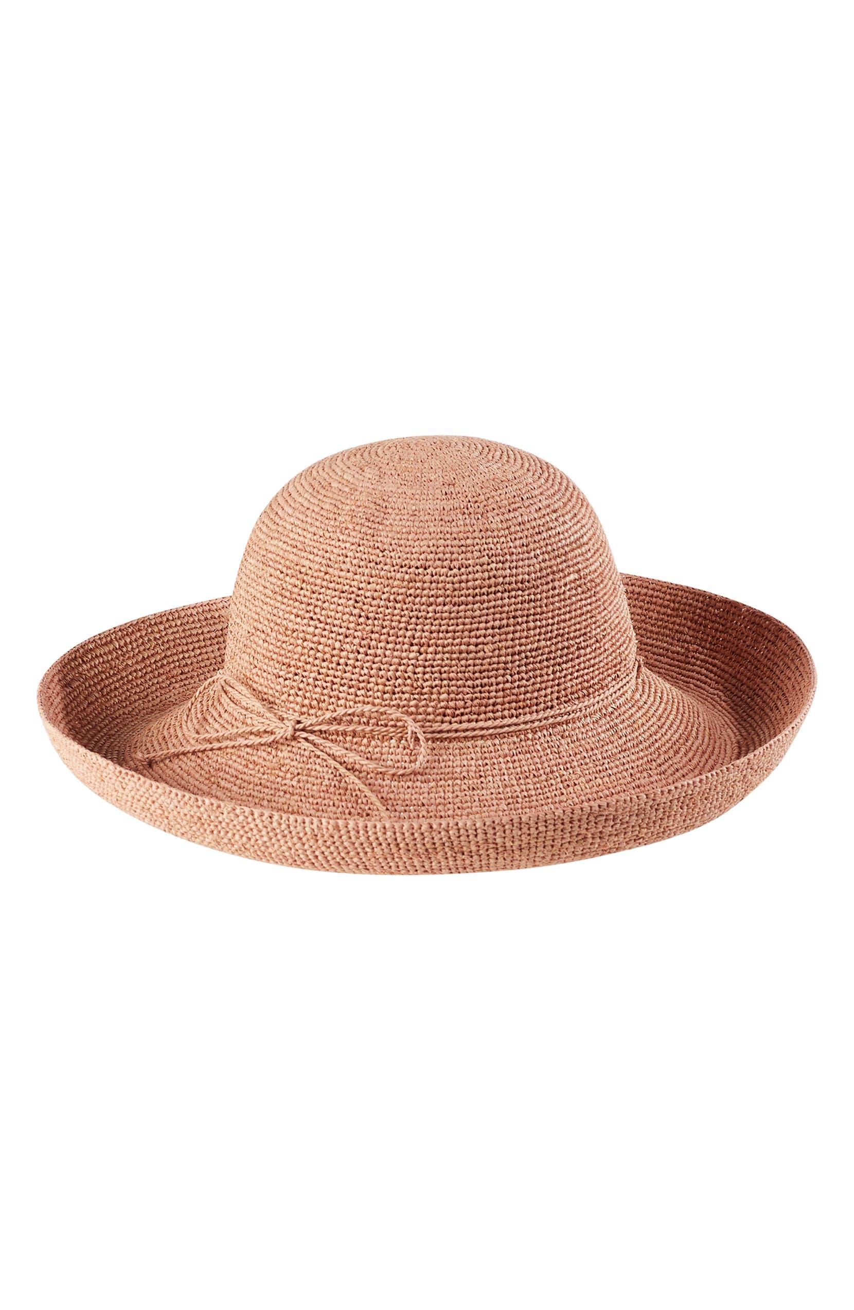 3026f57edf6b6e Helen Kaminski 'Provence 12' Packable Raffia Hat | Nordstrom
