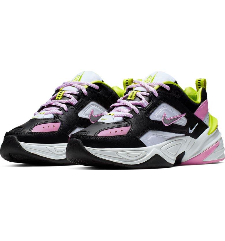 Damen nike Weiß grau M2k Tekno Sneaker