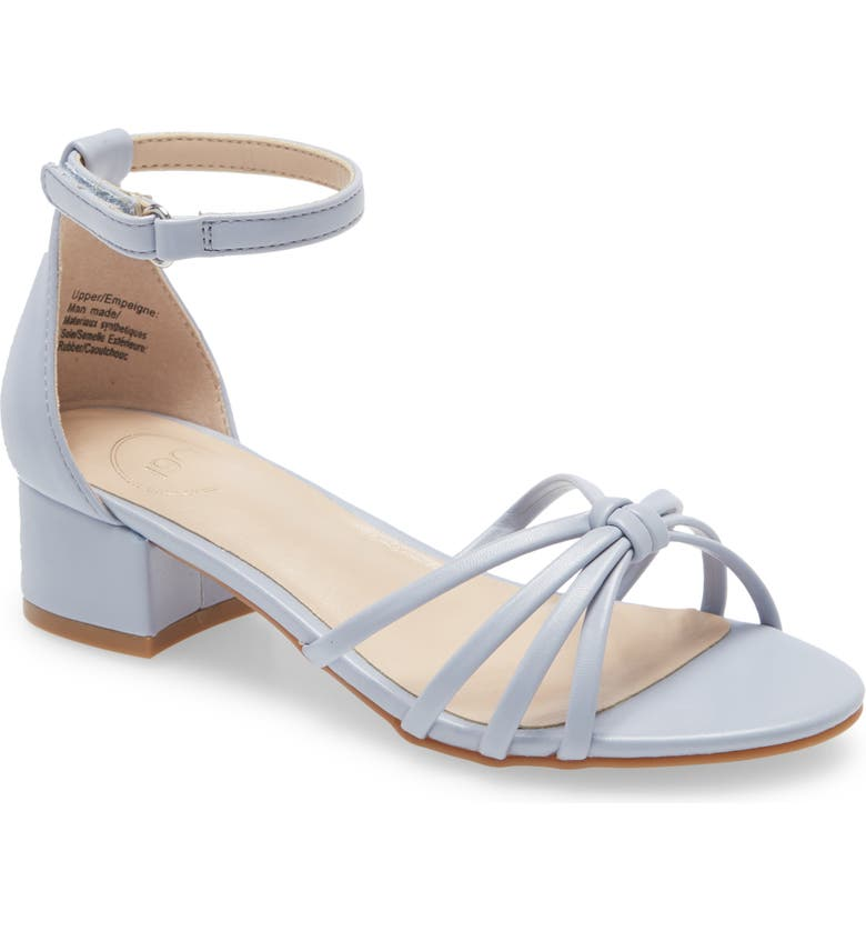 1901 Strappy Sandal, Main, color, BLUE HERON FAUX LEATHER