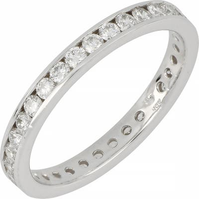 Bony Levy Channel Set Eternity Band (Nordstrom Exclusive)