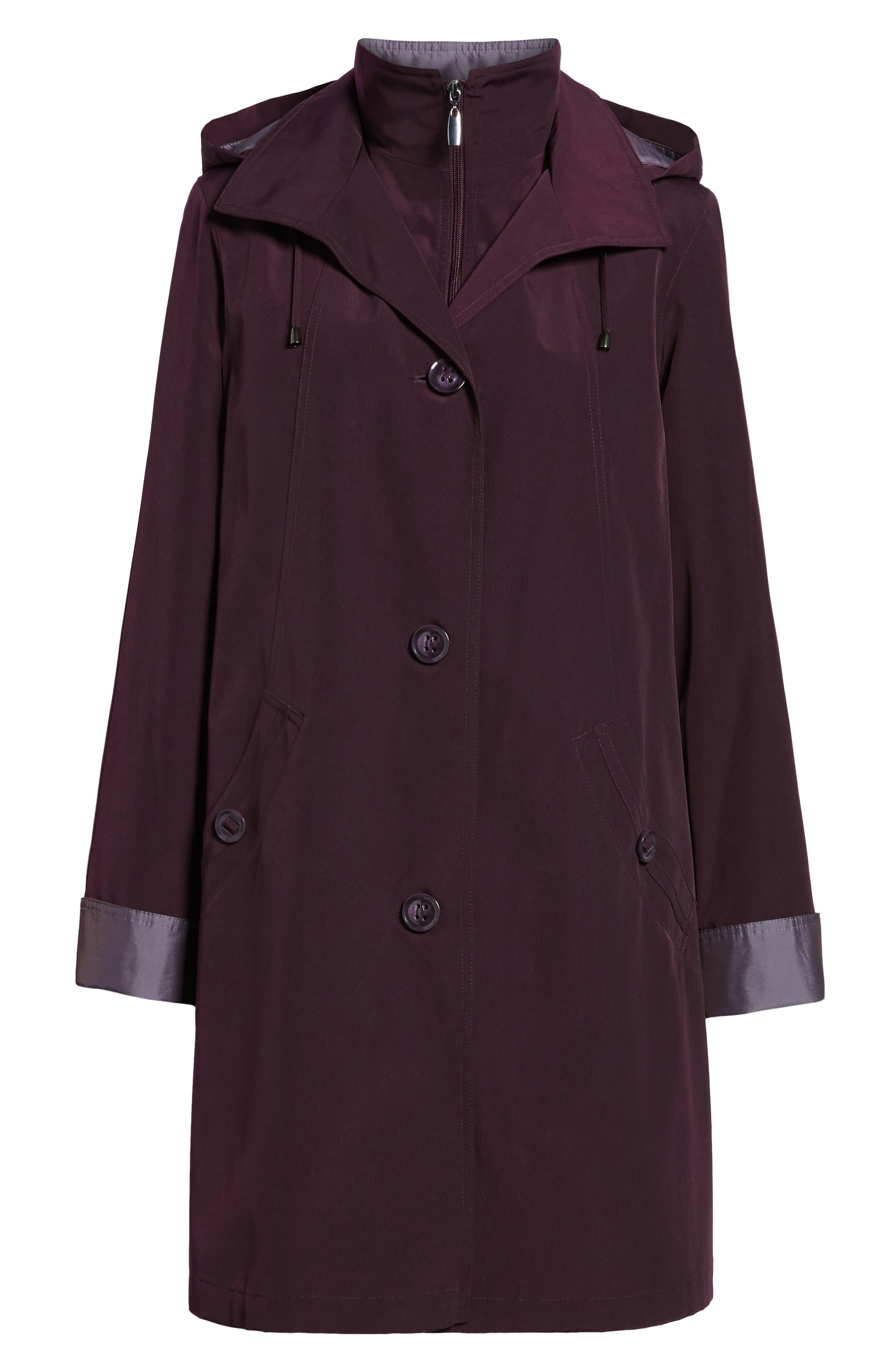 ,                             Detachable Hood & Liner Raincoat,                             Alternate thumbnail 13, color,                             518