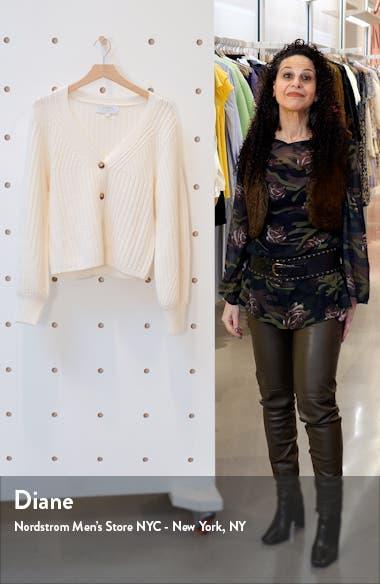 Chunky Knit Merino Wool Cardigan, sales video thumbnail