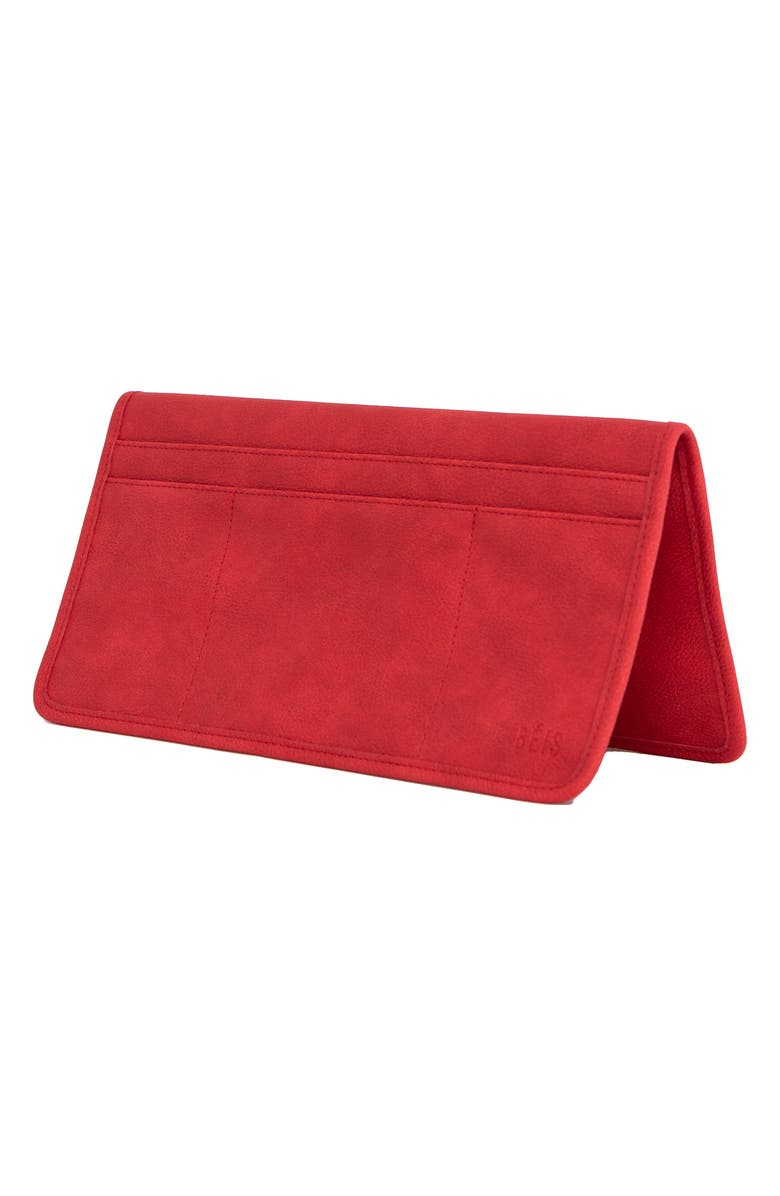 BÉIS The In-Flight Organizer Pouch, Main, color, RED