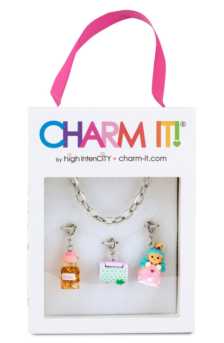 CHARM IT!<SUP>®</SUP> Fairytale Charm Bracelet Gift Set, Main, color, SILVER