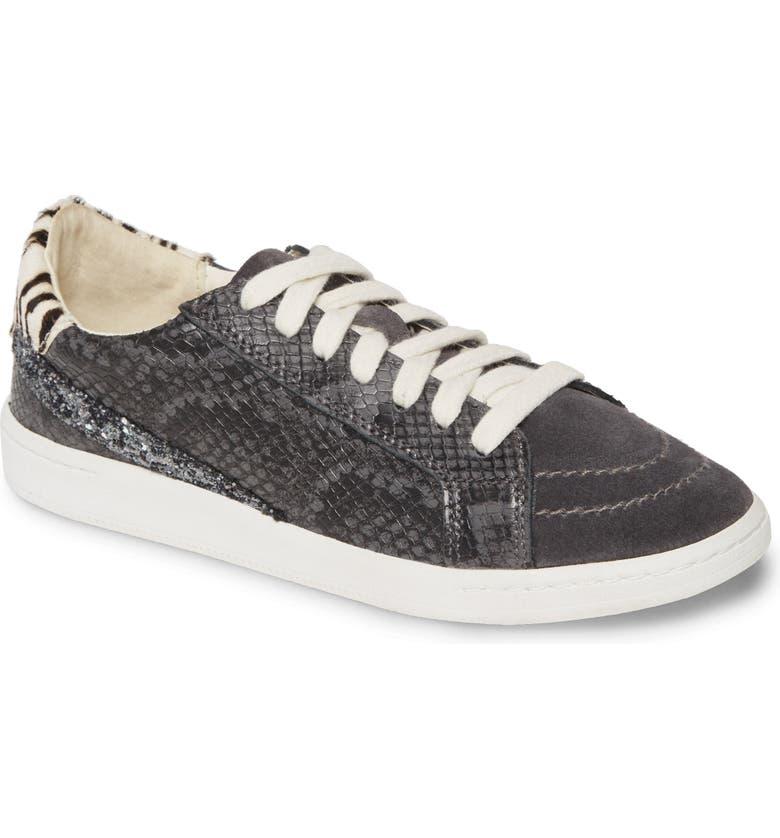 DOLCE VITA Nino Sneaker, Main, color, CHARCOAL SNAKE