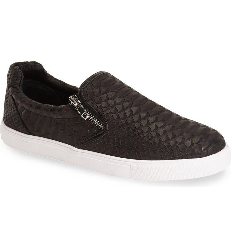 JSLIDES 'Zipster' Slip-OnSneaker, Main, color, 001