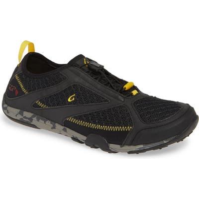 Olukai Eleu Mesh Sneaker, Black