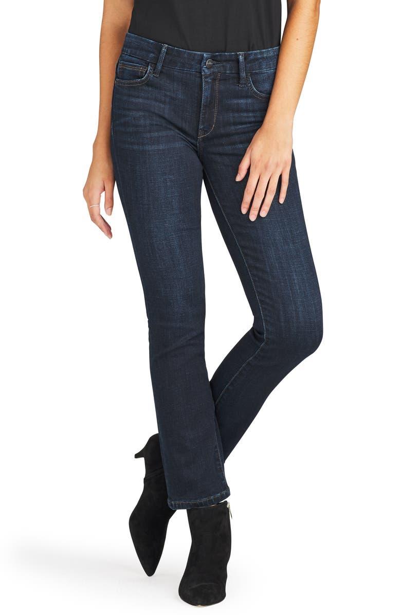 SAM EDELMAN The Kitten Straight Leg Jeans, Main, color, PENNIE