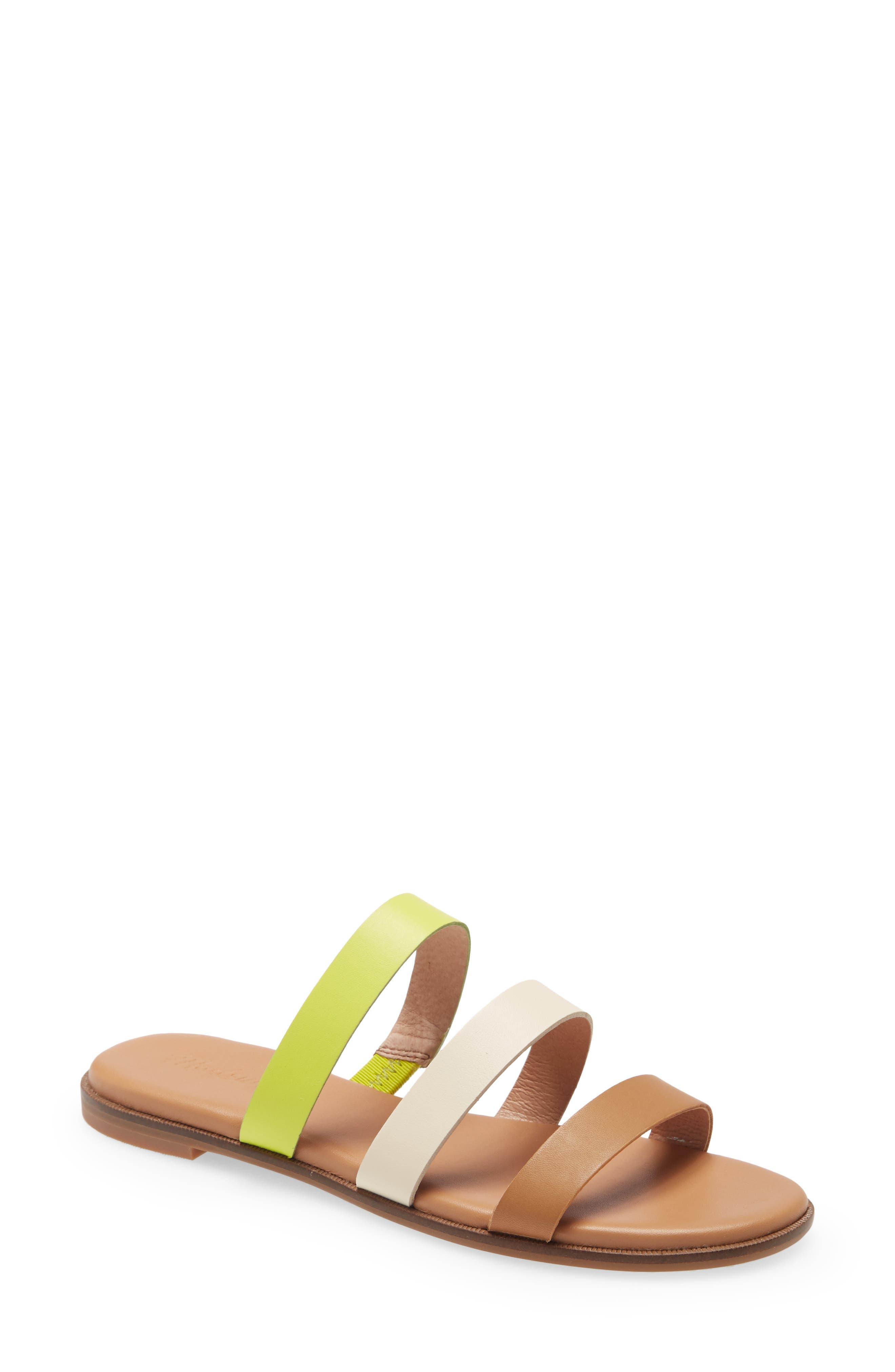 The Ilana Colorblock Slide Sandal