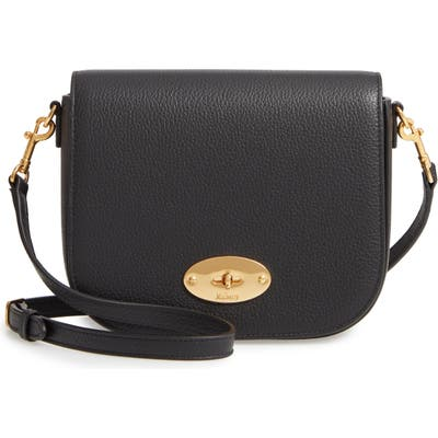 Mulberry Small Darley Leather Crossbody Bag - Black