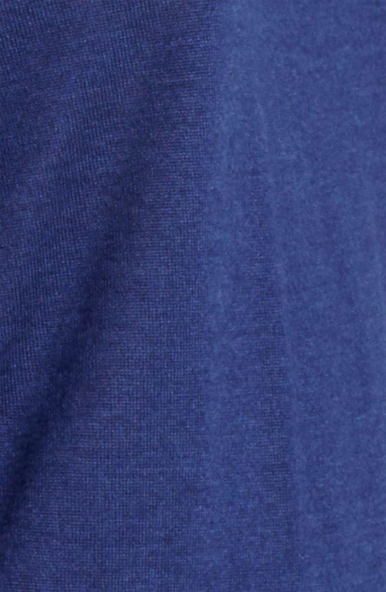 JIL SANDER Stripe Sleeve Knit Sweater, Main, color, 423