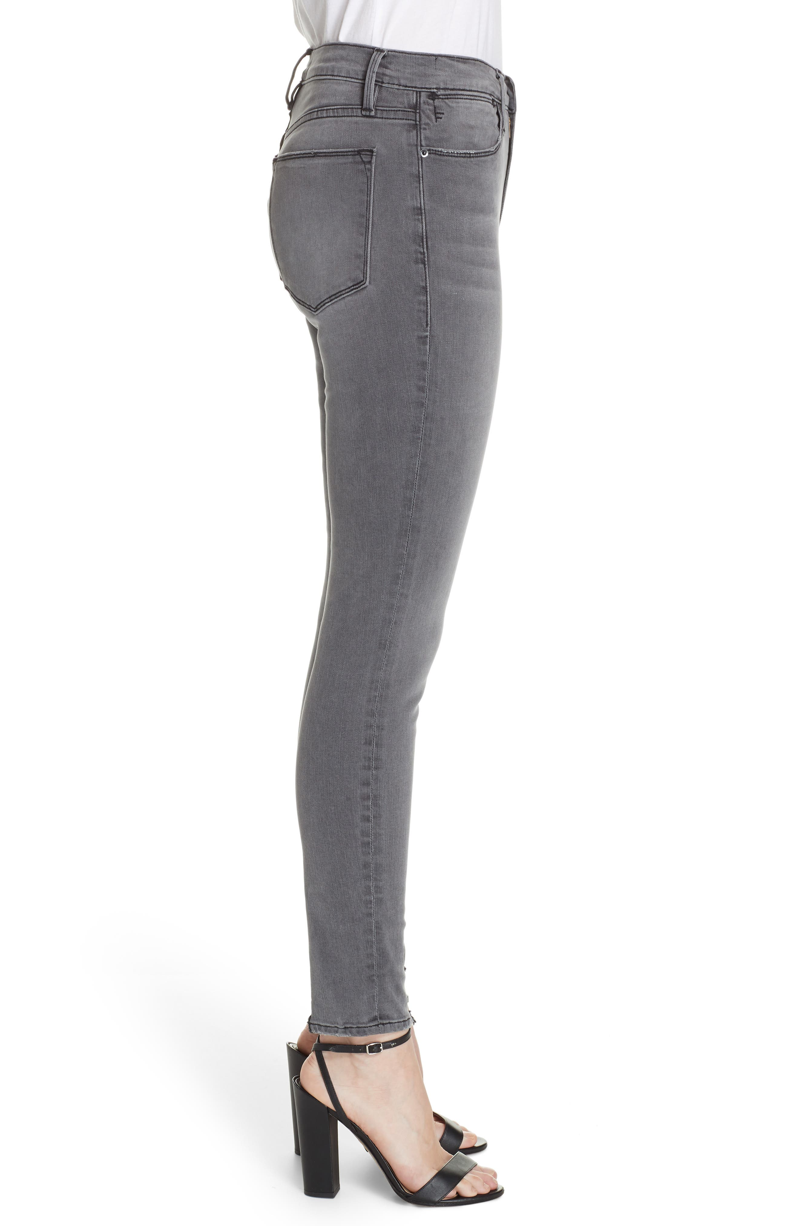 ,                             Le High Ankle Skinny Jeans,                             Alternate thumbnail 22, color,                             033