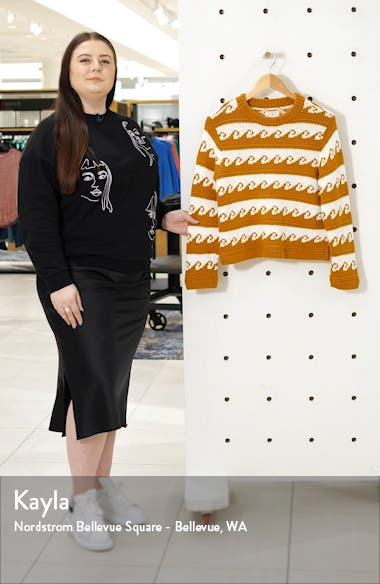 Romina Ride the Wave Crewneck Sweater, sales video thumbnail