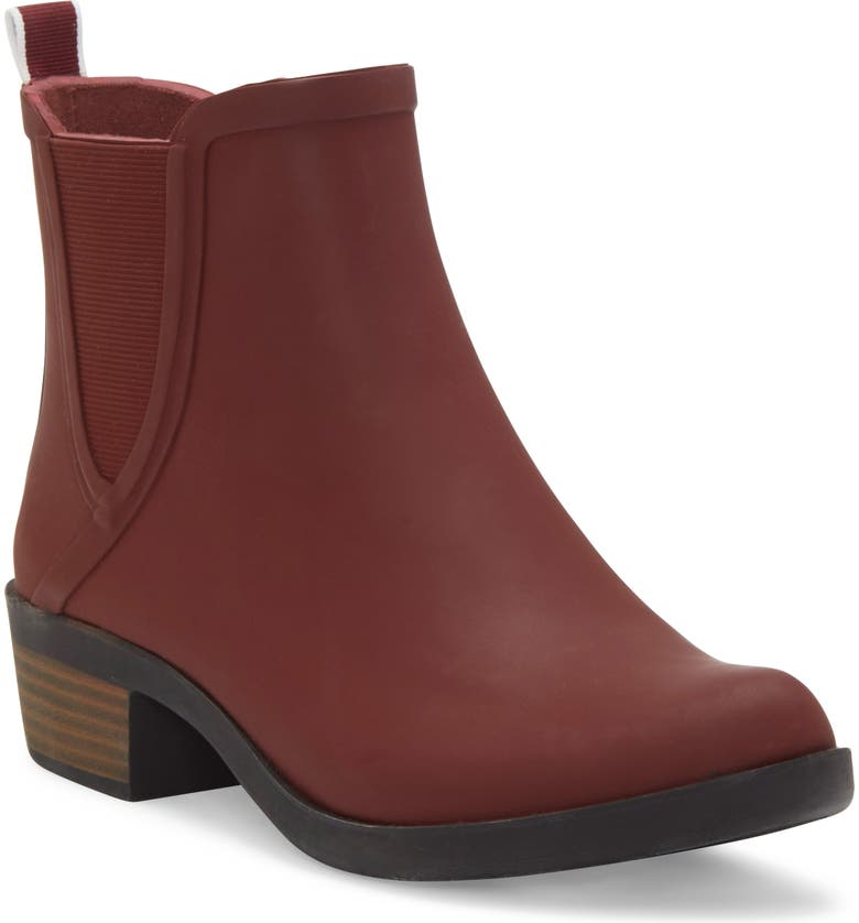 LUCKY BRAND Basel Rain Bootie, Main, color, SABLE