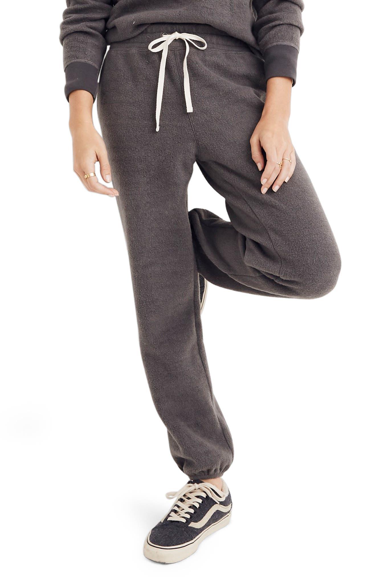 Fleece Pajama Sweatpants, Main, color, 020
